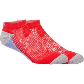 asics Ultra Comfort Quarter Socks, rosso